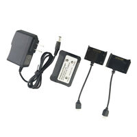 2 Ports 2S Lipo Balance Charger Adapter Kit for Holy Stone HS700 Drone Parts