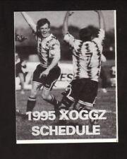Columbus Xoggz--1995 Pocket Schedule--Big Bear--USISL