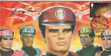 GERRY ANDERSON signed FDC CAPTAIN SCARLET Galaxy in Circinus stamp Ltd Ed