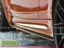 DP Style Carbon Fiber Side Skirts Extension Lip Fits BMW E82 E88 1 Series 1M