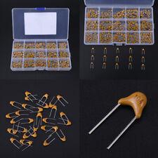 12 values 120pcs Multilayer Ceramic Capacitors Assortment Kit 8pF~820pF