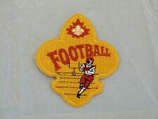 Vintage Embroidered Football Sew On Patch