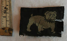 Original Military WWII Eastern Command Bulldog Cloth Formation Badge (3288)