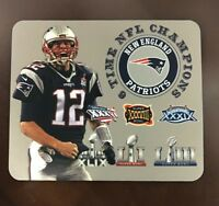New England Patriots Mouse Pad Super Bowl NFL Champions Made In Michigan