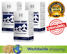3 x POTENCY THERAPY 60 caps Strong Long Erection Better Sex Ejaculation vigrax