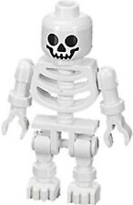 Lego Skeleton Minifigure Standard head Swivel arms white CASTLE Harry Potter