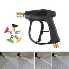 1high Pressure Washer Spray Gun Water Car Wash Trigger With Swivel Inlet 2175psi