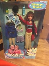 MARY KATE AND ASHLEY BARBIE DOLL - PAJAMAS PARTIES RULE - NEW, NRFB