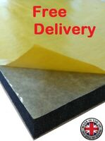 Self-adhesive Acoustic Soundproofing Fire Proof CLASS O FOAM in Various Sizes