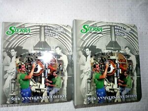 Two Sierra 50 Anniversary Edition Manuals, Handgun and Rifle reloading Excellent