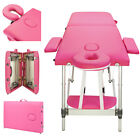 Salon Barber Chair Tattoo Chairs Massage Table Folding Facial Bed Beauty Pink