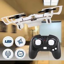 Mini 2.4G 4Ch 4Axis Nano Quad copter Drone RTF RC Quadcopter LED Airplane Kid TR