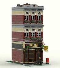 LEGO CUSTOM INSTRUCTIONS MOC - MODULAR PUB - MODEL F1 - PDF MANUAL