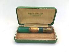 1817 RENAUD PARIS Green SWEET PEA Antique Perfume Vial Bottle + Original Case