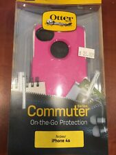 OtterBox Commuter Series Phone Case For Apple iPhone 4S Pink / White