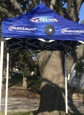 BUD LIGHT BEER NFL  Canopy W/Bluetooth Speakers TENT TAILGATE FOOTBALL PARTY NIB