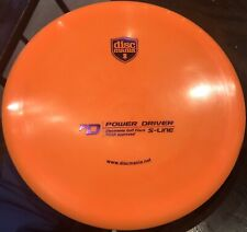 Rare PFN Patent # S-Line PD Power Driver 175 g DiscMania Innova Disc Golf New