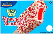 Ice Cream Truck Decal Sticker Blue Bunny King Size Strawberry Shortcake Ver. 1