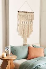 Penny woven macrame wall hanging Urban Outfitters