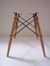 Dowel Base for Herman Miller Charles Eames fiberglass shell chair DSW DAW