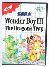Sega Master System Wonder Boy III: The Dragon's Trap (Sega Master, 1989)