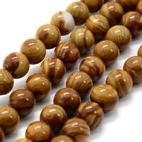2 Strds Natural Old Agate Stone Beads Crackle Oval Spiral Donut Big Gems 30~31mm