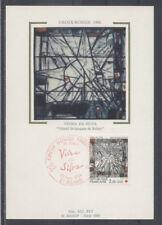 FRANCE FDC - 2449 5 CROIX ROUGE - 22 Novembre 1986 - LUXE sur soie