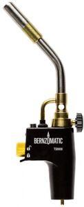 Bernzomatic Premium Torch Head Cast Aluminum Body Adjustable Flame Control Lock