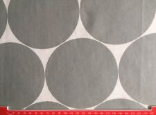 Orla Kiely Large spot in Light Grey FQ 50cm by 50cm Square Fabric New