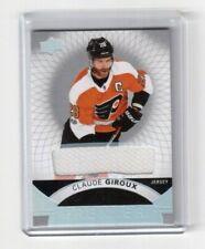 2017-18 Upper Deck Premier Jersey Card # 10 Claude Giroux Philadelphia Flyers