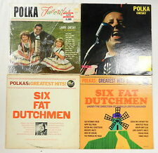 CHESKY, LOEFFELMACHER SIX FAT DUTCHMEN Greatest Hits Favorites ~ 4 Polka LPs