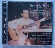 Rey de la Torre (CD, Jun-2006, Bridge) Guitar String Quartet