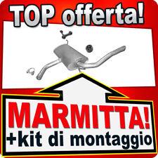 Scarico SEAT ALTEA XL & TOLEDO III 1.6 1.9 TDI TD dal 2004 Marmitta XYE