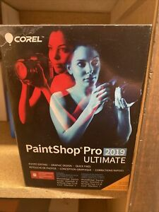 Brand New!!! Corel PaintShop Pro 2019 Ultimate