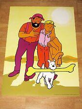 Tintin Tim et Struppi Art Poster 1 - Tintin & Haddock Grand Bone