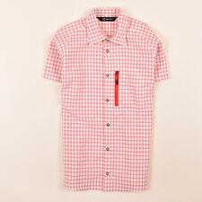 Haglöfs Damen Hemd Shirt Gr.S (DE 36) kariert Rot Weiß, 68710