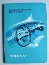 Volvo 121 und 122 S (P 120 D) AMAZON Betriebsanleitung, 11.1960, 68 Seiten