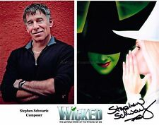 Stephen Schwartz HAND Signed 8x10 Photo, Autograph, Wicked Musical Composer B
