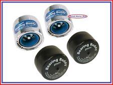 "(2) Bearing Buddy 1.980"" CHROME Bearing Protectors w/ Auto Check W/ Bras - Pair"