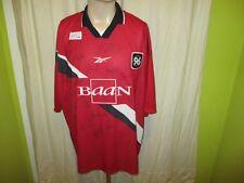 """Hannover 96 Original Reebok Heim Trikot 1998/99 """"Baan"""" + Handsigniert Gr.XXL TOP"""
