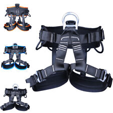 Rock Safety Profession Tree Climbing Seat Sitting Rappelling Harness Seat Belt