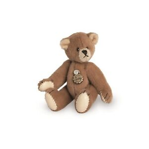 Teddy Hermann jointed collectable miniature brown teddy bear in gift box 154174