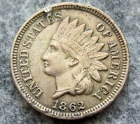 UNITED STATES 1862 CENT INDIAN HEAD