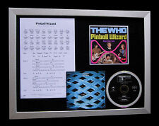 THE WHO Pinball Wizard LIMITED Nod QUALITY CD FRAMED DISPLAY+EXPRESS GLOBAL SHIP