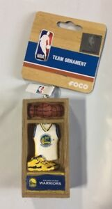 Golden State Warriors Locker Room Christmas Tree Holiday Ornament FREE USA SHIP