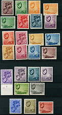 Seychelles SG135-148 1938 GVI Definitives Mounted Mint (25 values)