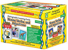 Nouns, Verbs and Adjectives: Photographic Learning Cards
