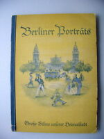 Sammelbilderalbum Berliner Porträts Große Söhne Berlin