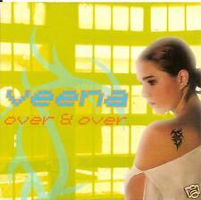 VEENA - over & over CDS!! eurodance 2002 BELGIUM RARE!!