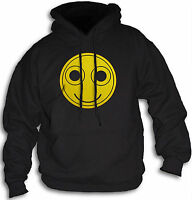 Funny Smiley Face Hoody Acid Trip LSD Rave XTC Mens Women's Hooded Top Sm - 2XL